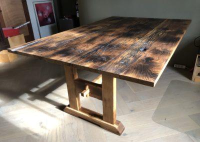 Tafel van barnwood